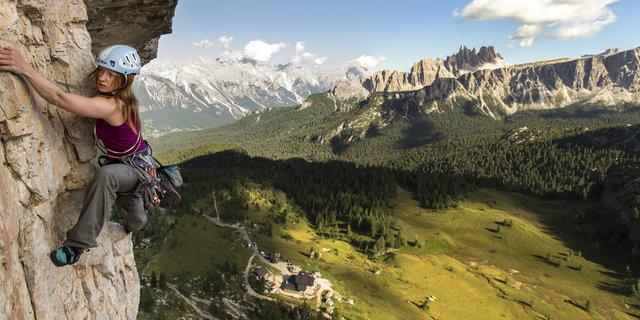 Kaya tırmanışı riskli ama heyecanlı