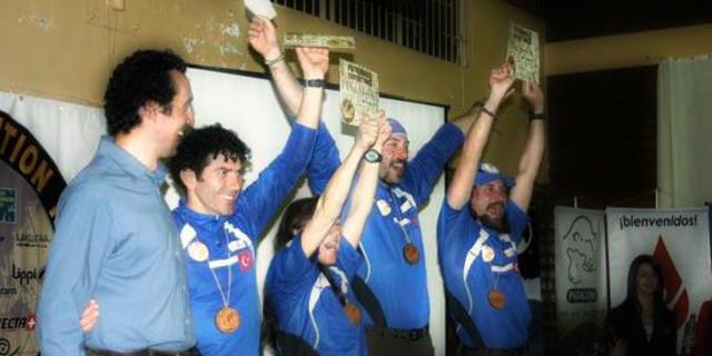 2008 Patagonya Keşif Yarışı ödül töreni