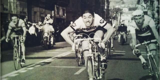 Eddy Merckx 1966 San Remo-Milan yarışının galibi