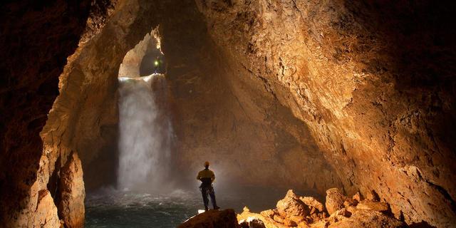 Mağaranın içinde başka bir habitat var