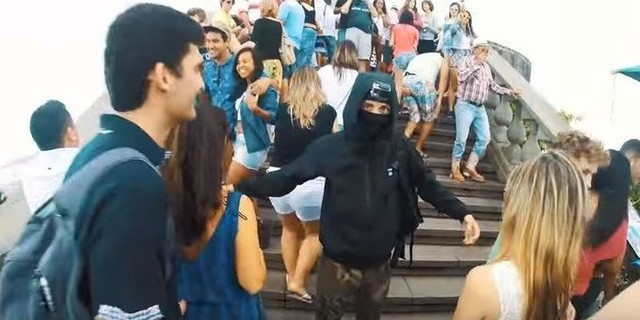 "Rio'da iki ""ninja"" görüldü"