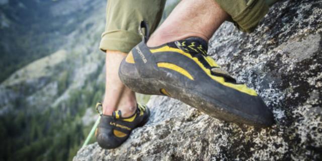 Kaya tırmanışı ayakkabısı olmadan kayaya çıkılmaz