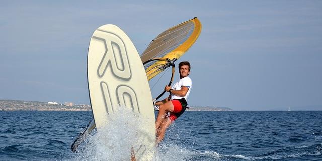 Rio'ya yelken açan Olimpik rüzgar sörfçümüz…