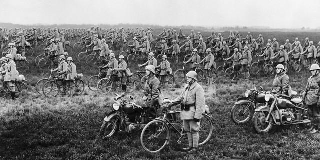 Bisikletli Hollanda Birlikleri 19. Yüzyıl