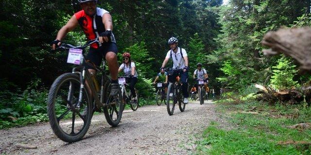 Dağ bisikletçileri Hatay'ı sever