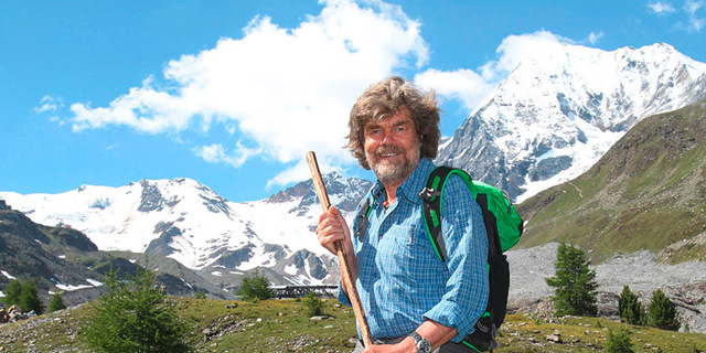 Reinhold Messner, dünyanın tüm zirvelerini fethetti