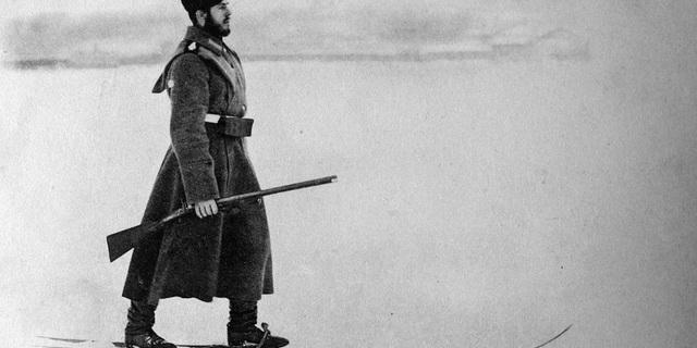 Eski zamanlarda bir Rus askeri