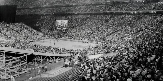 Bir zamanlar fırtınalar estiren Silverdome