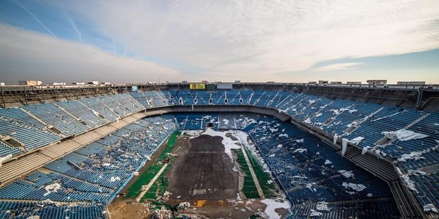 Dünya Kupası tarihindeki üstü kapalı ilk stadyum