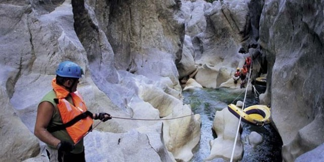 Türkiye'nin en zorlusu: Valla Kanyonu