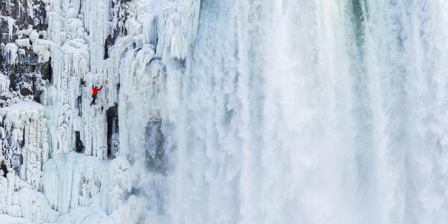 Will Gadd buz tırmanma işinin kralı