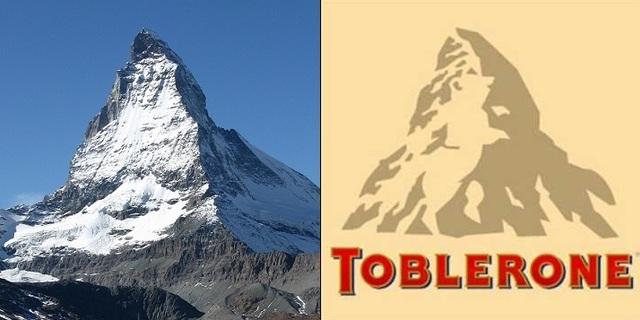 Toblerone ve Mattehorn Dağı