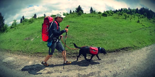 Trevor Thomas ve köpeği