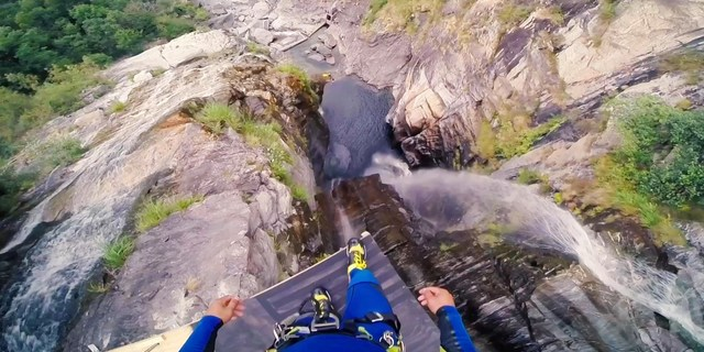 Guinness 58 metre aşağıda!