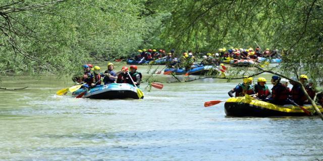 Türkiye'deki önemli rafting rotaları