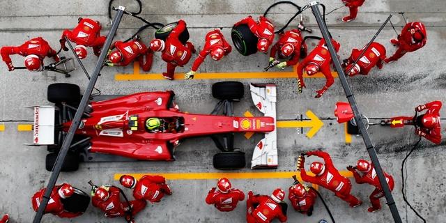 F1 yarışlarının ikonik anı: Pit stop