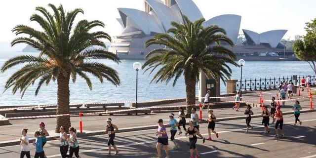 Sidney'in en güzel yerinde koşun