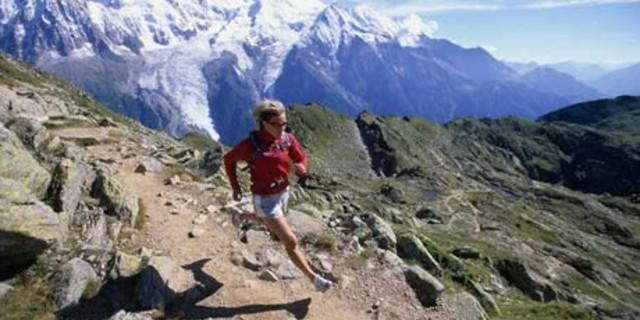 Alpler'de koşu keyfi