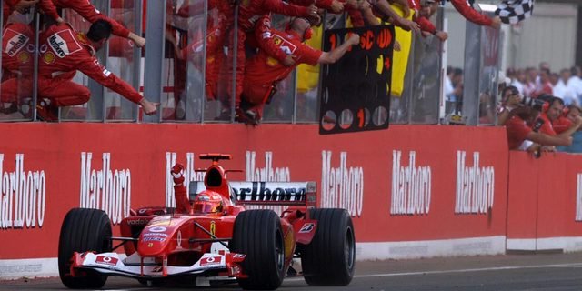 Ferrari 2000'lerde altın çağını yaşadı