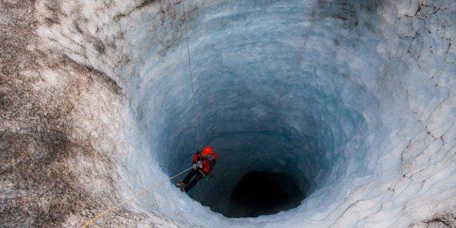 Buz tüneli...