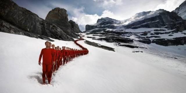 Matterhorn Dağı'ndan kareler