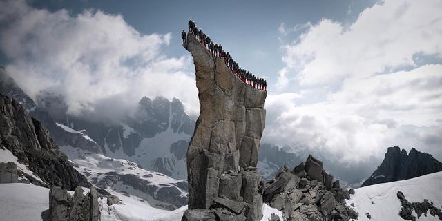 Matterhorn'da sadece üçgenler yok…