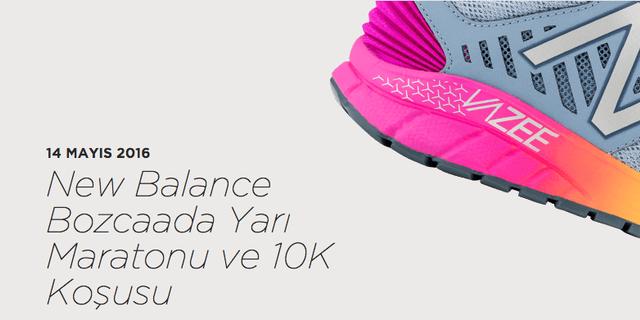 New Balance Bozcaada Yarı Maratonu