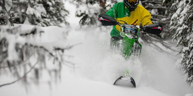 Turcotte ve gelişiminde büyük katkı sağladığı snowbike