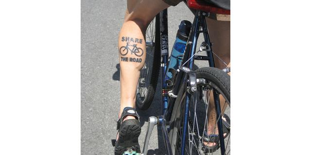Bisikletçilere yer aç…