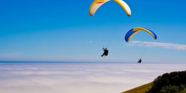 Yamaç paraşütü seven Venezuela'ya gelsin