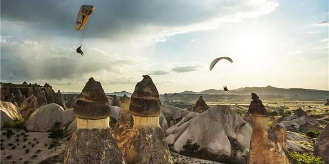 Kapadokya'da dünya rekoru