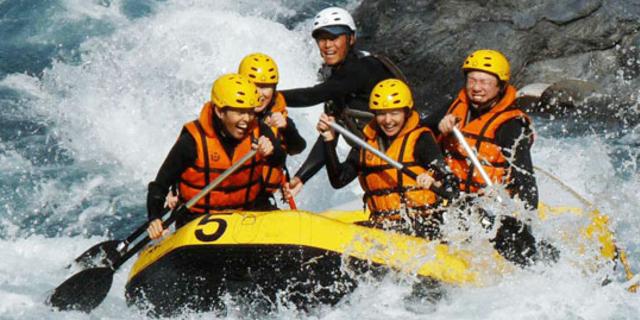 Rafting'in Japonya'daki adresi: Okutama