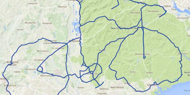 David Taylor, bu bisiklet için tam 341 kilometre yol kat etti