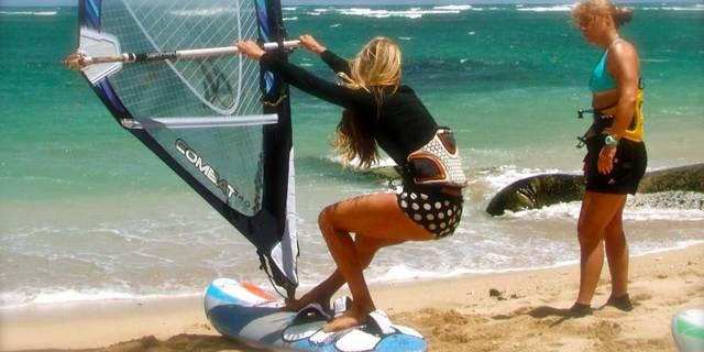 """""""Yolda yürüyebiliyorsanız, rüzgar sörfü de yapabilirsiniz!"""""""