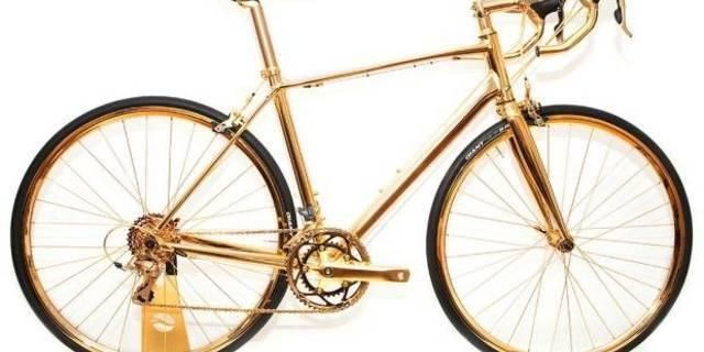 Haliyle pahalı bir bisiklet