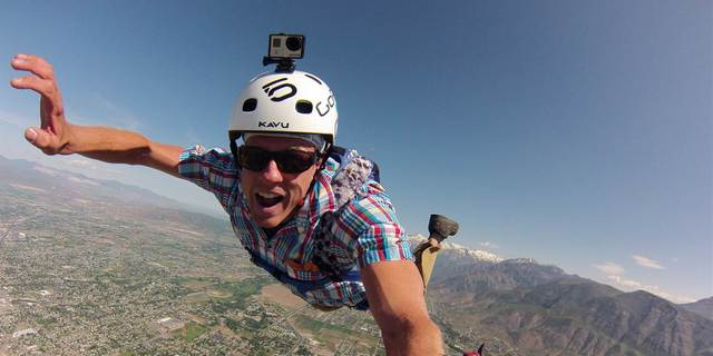 Gökyüzü selfie'si