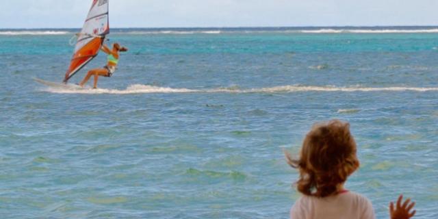 """""""Yarışıp yarışmaması önemli değil ama hayatının bir bölümünde sörfün olmasını çok isterim çünkü rüzgar sörfü benim bütün hayat akışımı belirledi."""""""