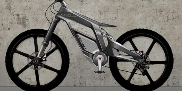 Audi'nin e-bisiklet tasarımı