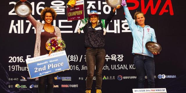 PWA serisinin Ulsan'daki ilk yarışında slalom kategorisinde birincilik…