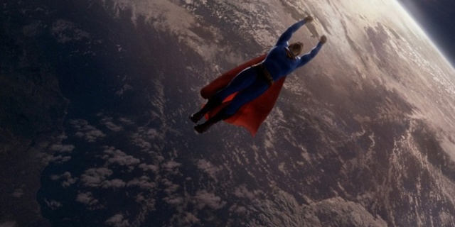 Süperman zamanı durduruyor
