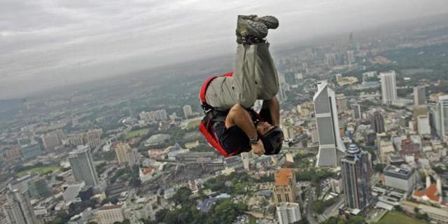 Çok akrobatik hareketler!