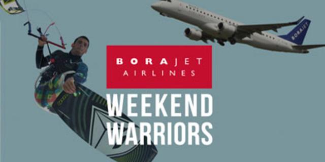 Borajet Airlines ile Haftasonları Akyaka Kitesurf Turları