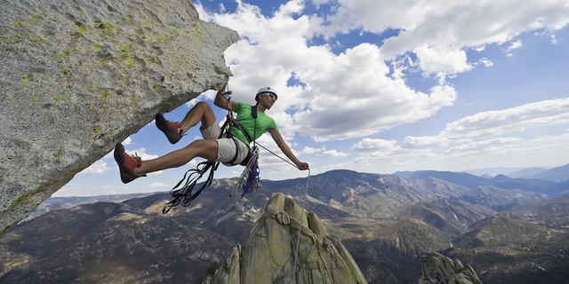 Ekipman tamamsa tırmanış çok daha kolay