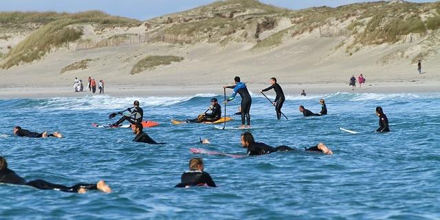 """""""Ortamdan ve sörften zevk almak için kumsala geldiğiniz belli edin."""""""