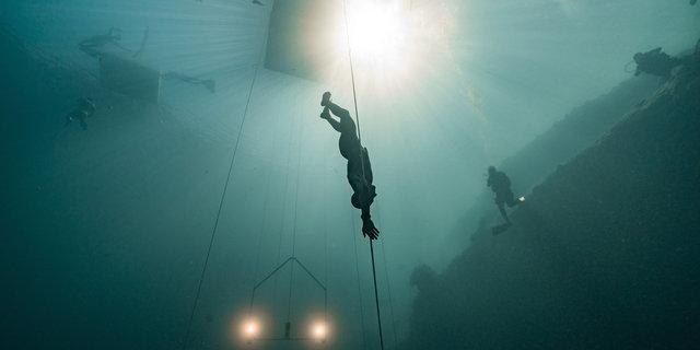 Dikey dalış örneklerinden biri
