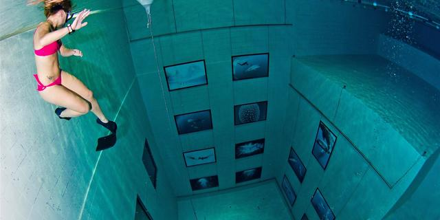 Havuzlar da dalışa ev sahipliği yapan yerlerden biri