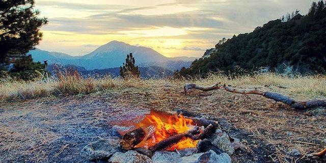 Kamp ateşi doğa yaşamının olmazsa olmazlarından