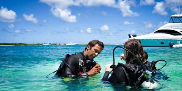 Dalış regülatörü scuba diving'in demirbaşlarından