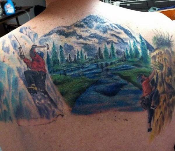 Kurtadam - bir anlam taşıyan dövme