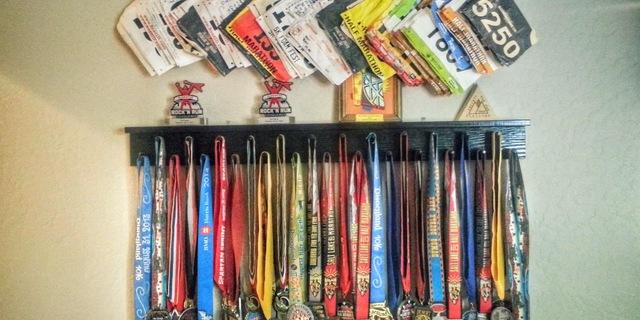 Madalya koleksiyonu…
